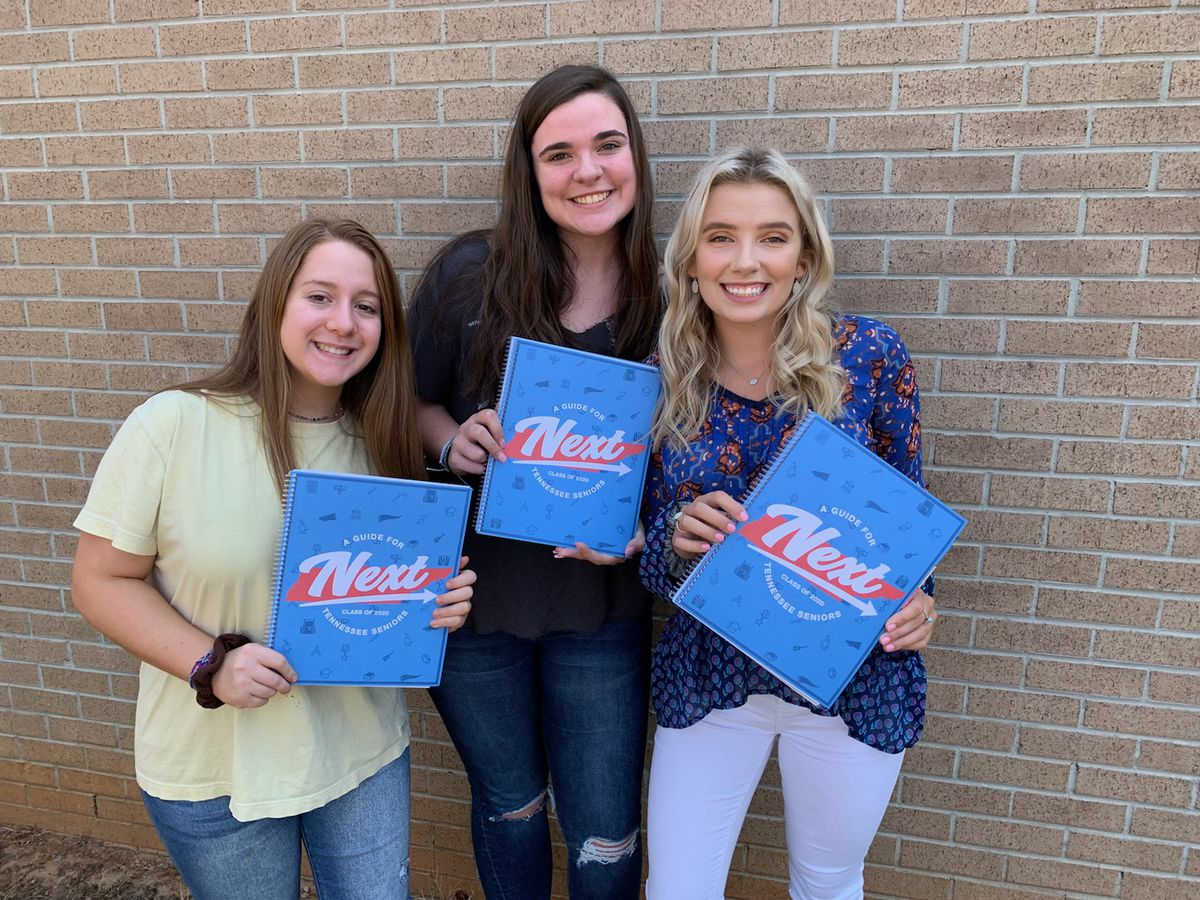 Members of the Class of 2020 started their school year off with excitement at Polk County High School in southeast Tennessee.