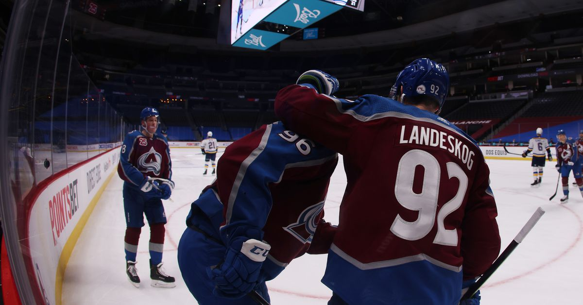 Landeskog and Rantanen hit career milestones as the Avalanche get their first win of the season - Mile High Hockey
