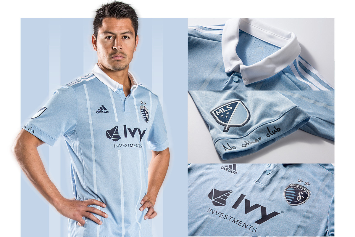 first rate 95c1d fd29e Sporting KC's new primary kit has arrived - The Blue Testament