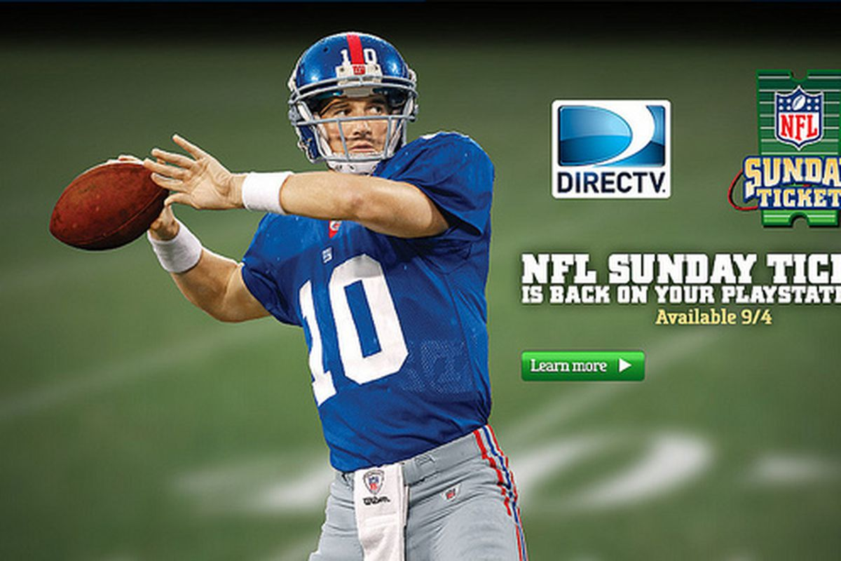 Sony And Directv Again Offering Nfl Sunday Ticket On Playstation 3 Priced At 299 95 The Verge