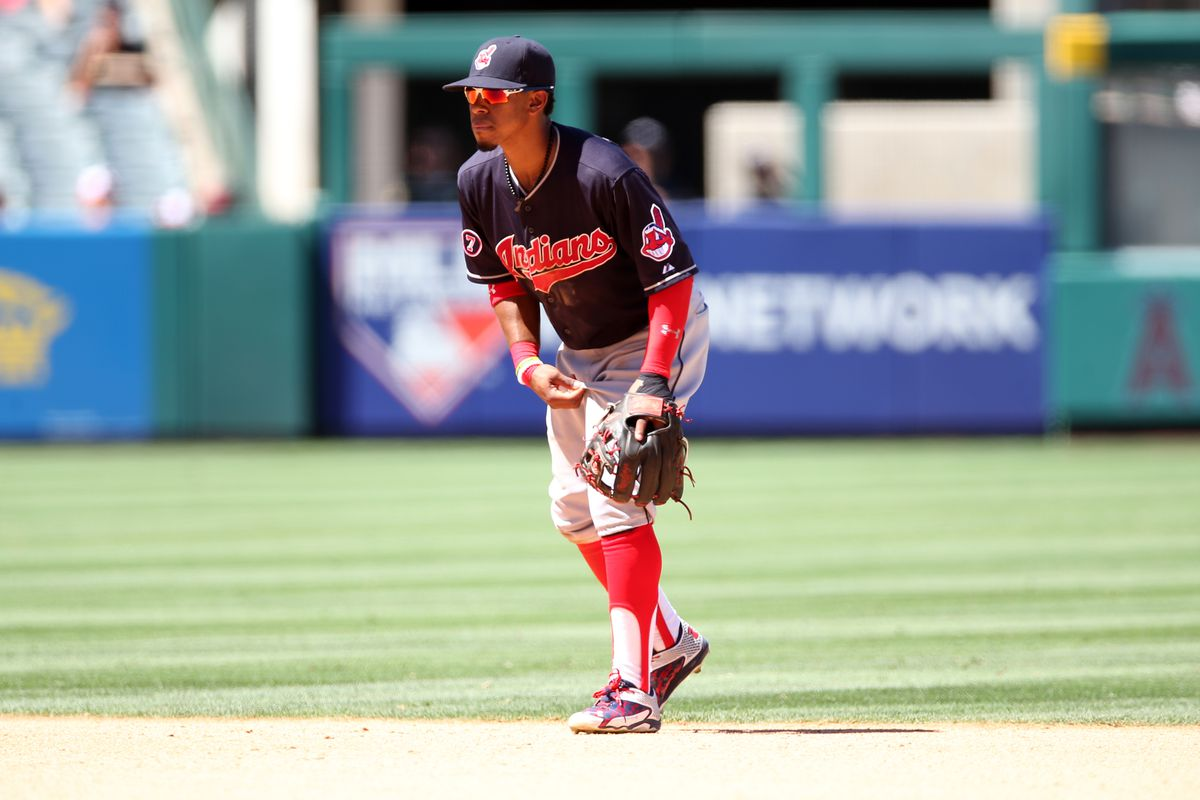 Cleveland Indians v Los Angeles Angels of Anaheim