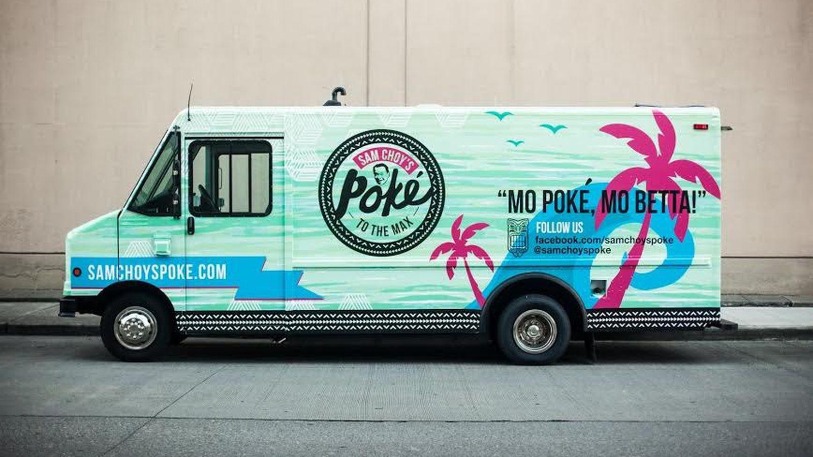 Poke Stop Food Truck Philadelphia