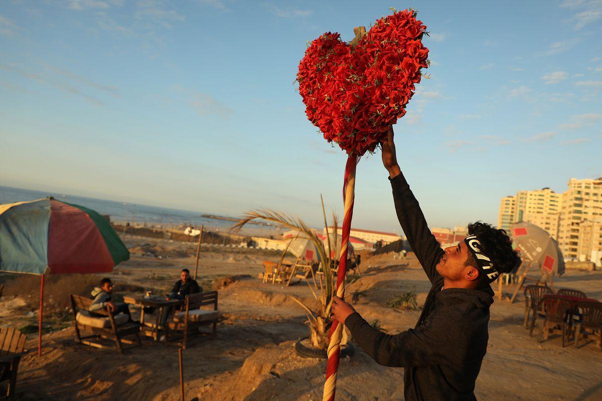 Valentine's Day In Gaza City