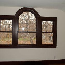 Bedroom window after