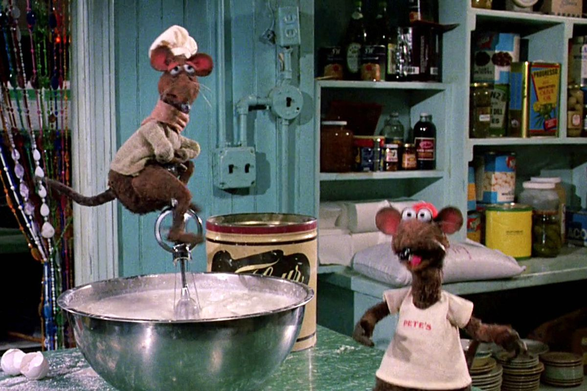 Before Ratatouille We Had The Rat Kitchen Of Muppets