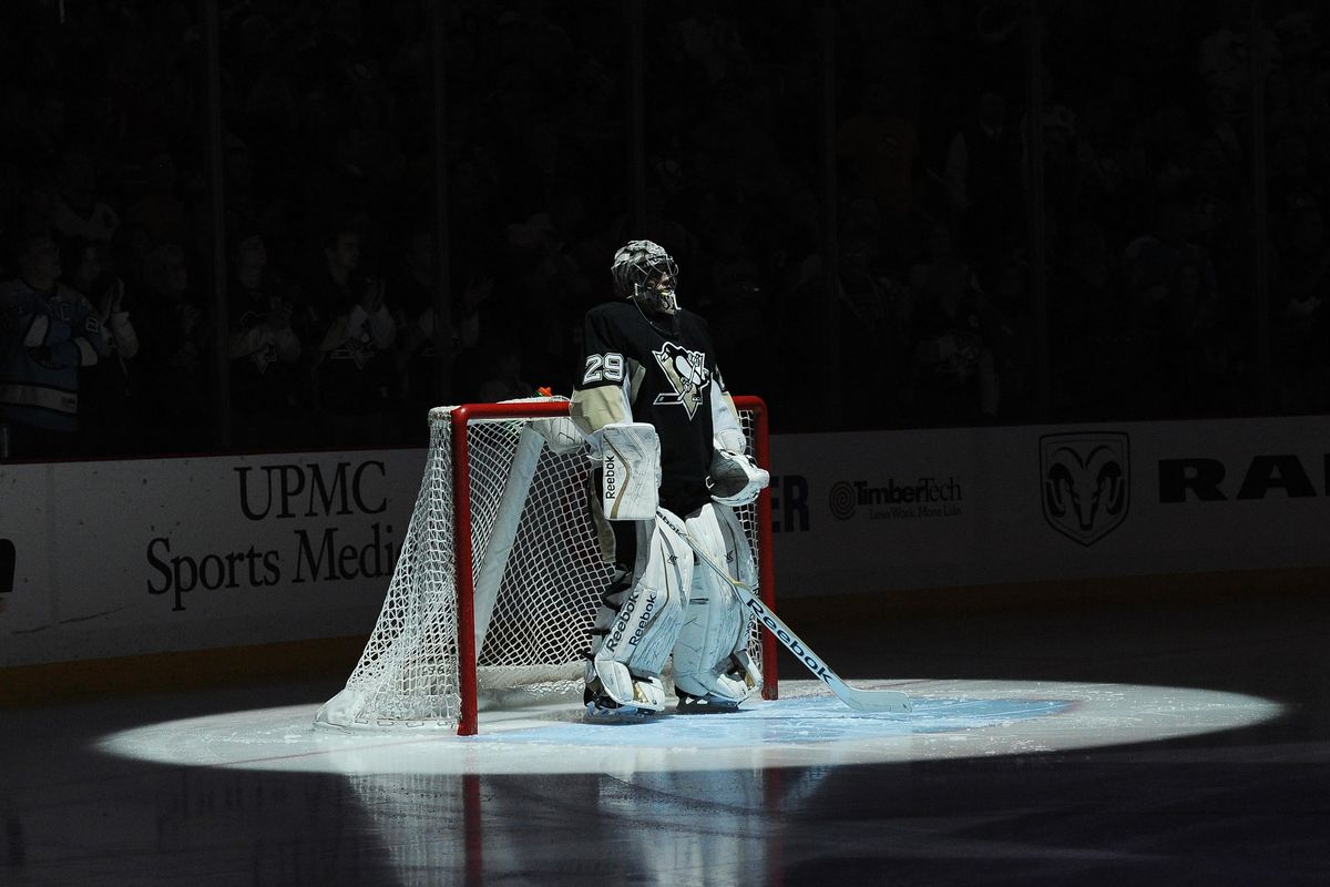 The spotlight is on the Pittsburgh Penguins - again.  They swept their week - again.