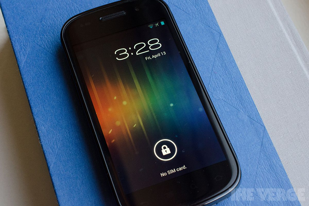 Android 4.0 Ice Cream Sandwich (STOCK)
