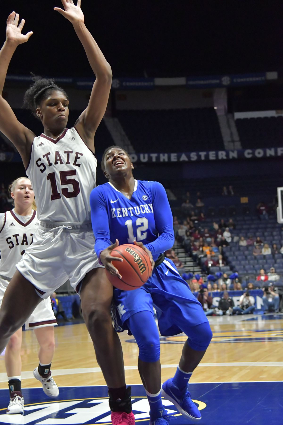 NCAA Womens Basketball: SEC Conference Tournament-Kentucky vs Mississippi State
