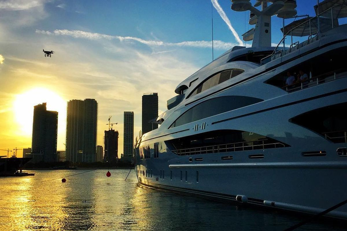 Miami Boat Show And Yachts Beach