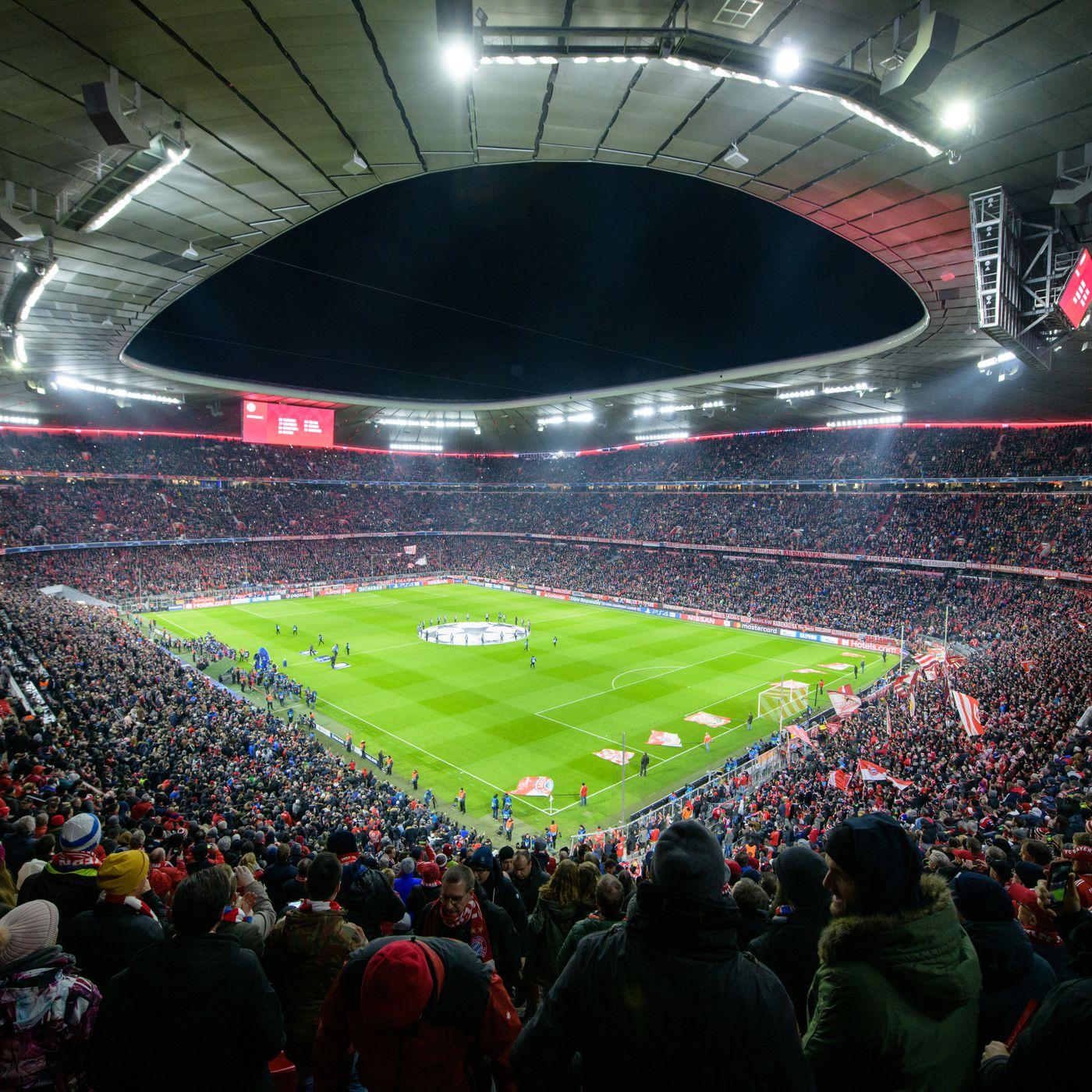 report munich to host 2022 uefa champions league final bavarian football works host 2022 uefa champions league final