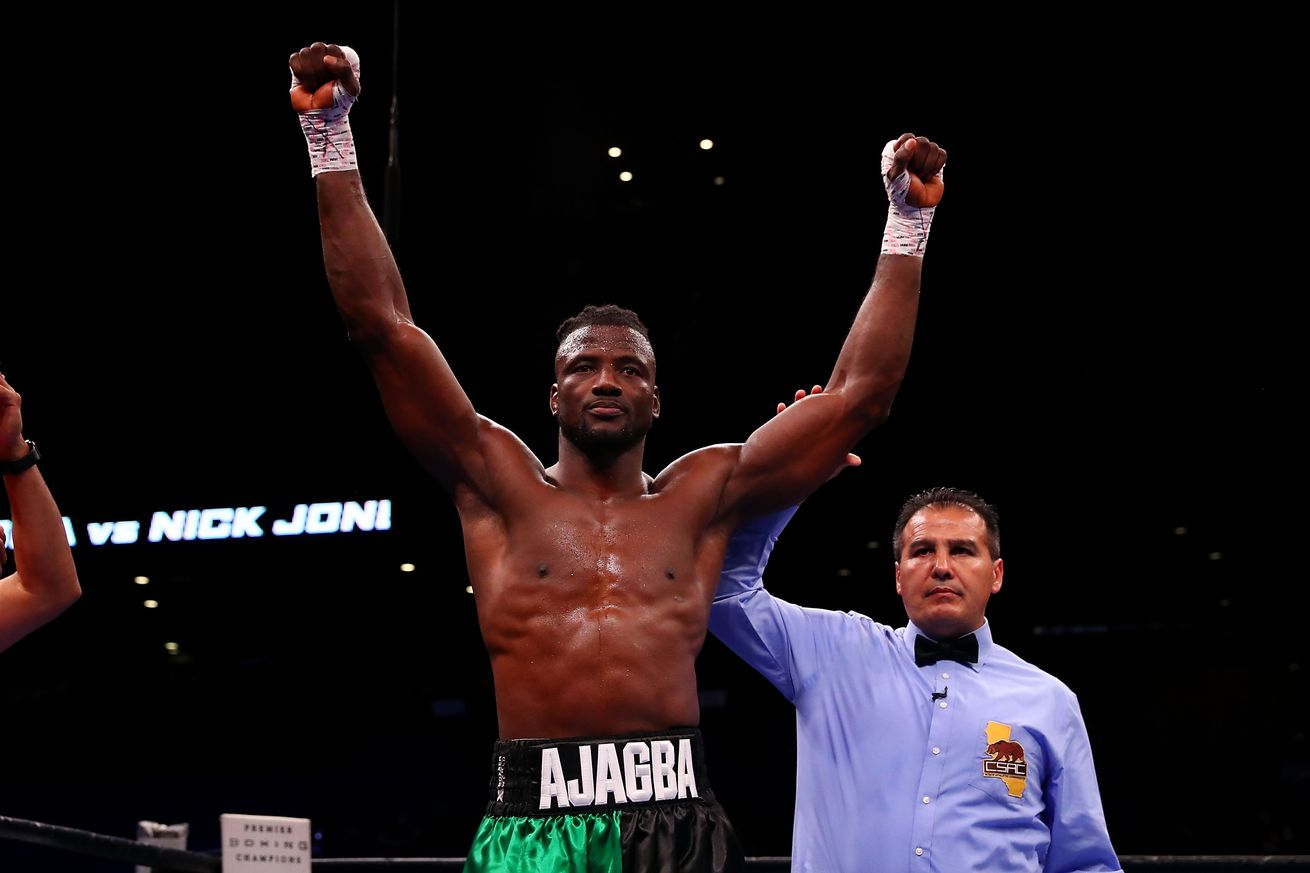 1043884064.jpg.0 - Ajagba out, Sanchez in on Saturday's Showtime tripleheader