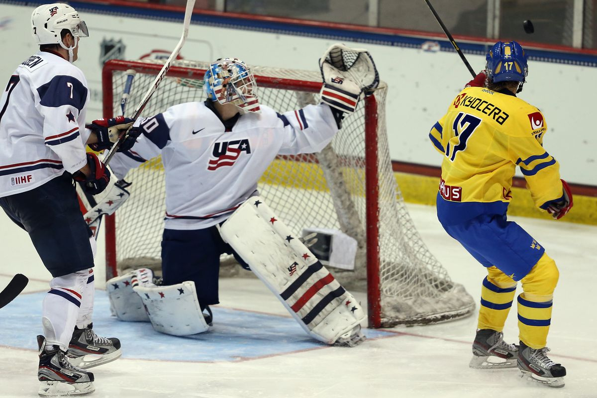 2015 World Juniors Usa Hockey Invites 3 Goalies With College Ties