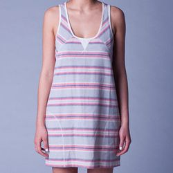 "<b>Lifetime</b> Tamarindo Dress, <a href=""http://www.lifetimecollective.com/TAMARINDO-DRESS-FREEDOM-STRIPE-p-69330.html"">$88</a> at Old Hollywood"