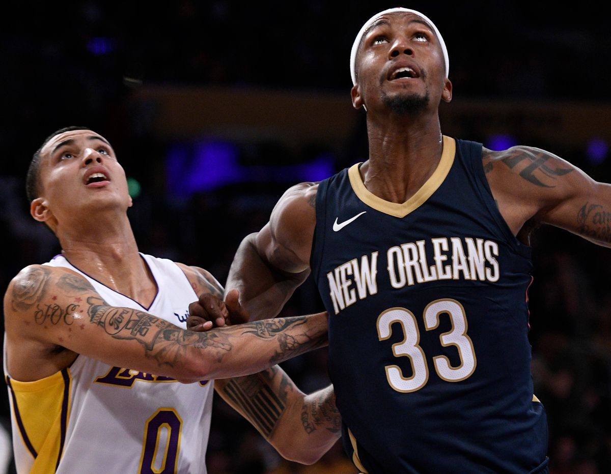 NBA  New Orleans Pelicans at Los Angeles Lakers 3f3749868