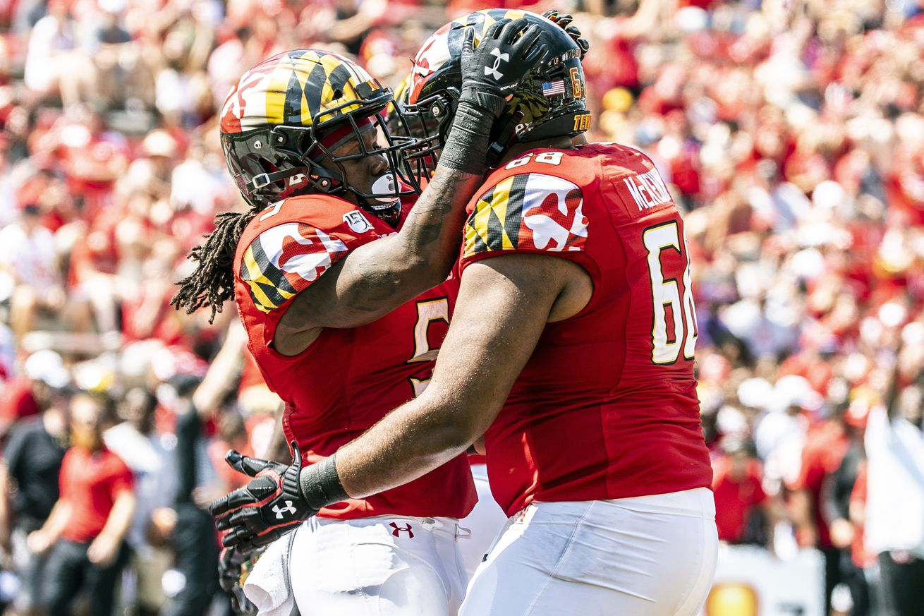 Maryland offensive lineman Ellis McKennie gets to play like an Eagle at Lincoln Financial Field this weekend