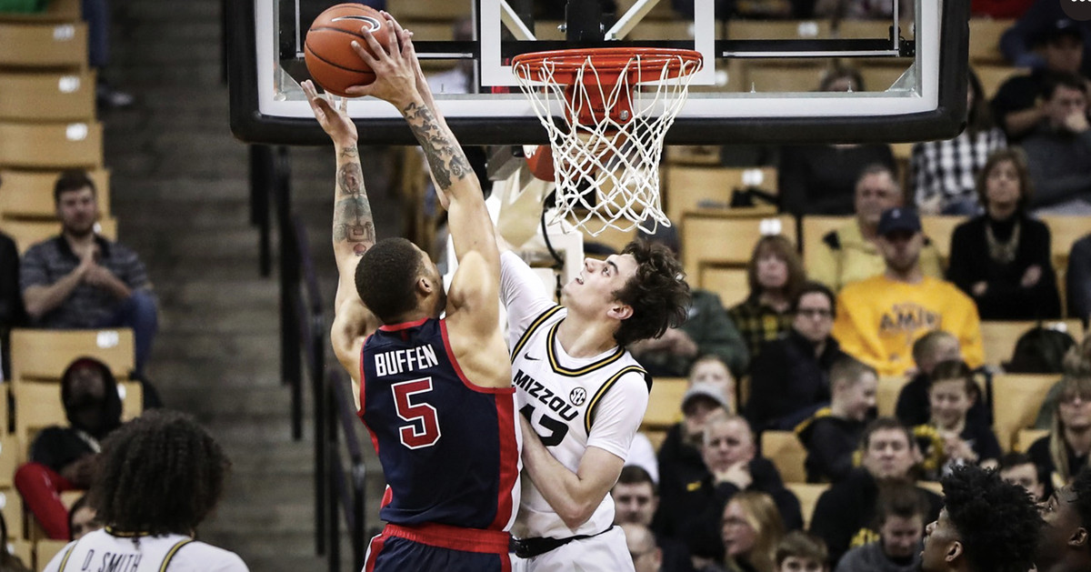 Parker Braun steps up for Missouri