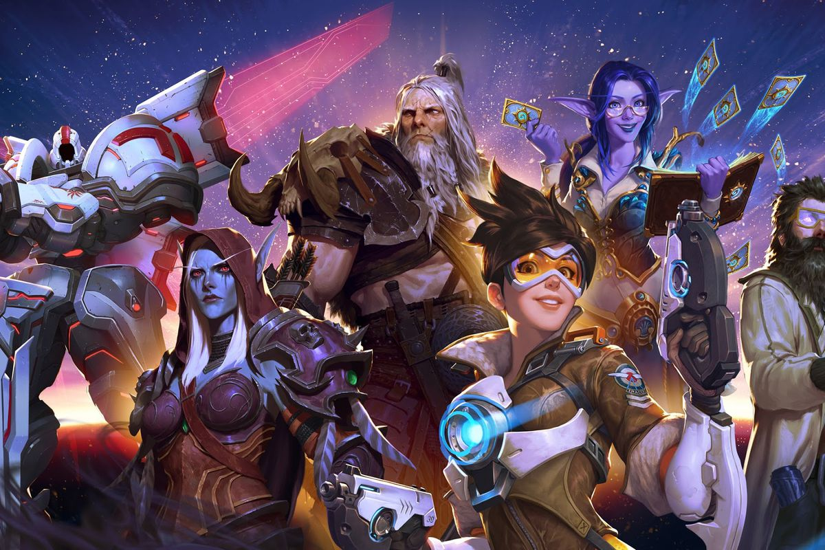 Artwork from BlizzCon 2019