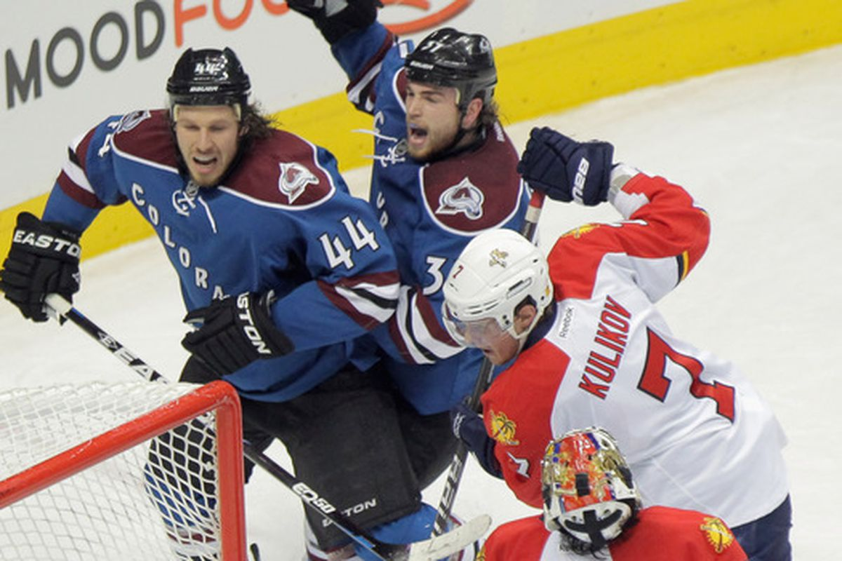 It has been awhile since the Avalanche and Panthers have met.