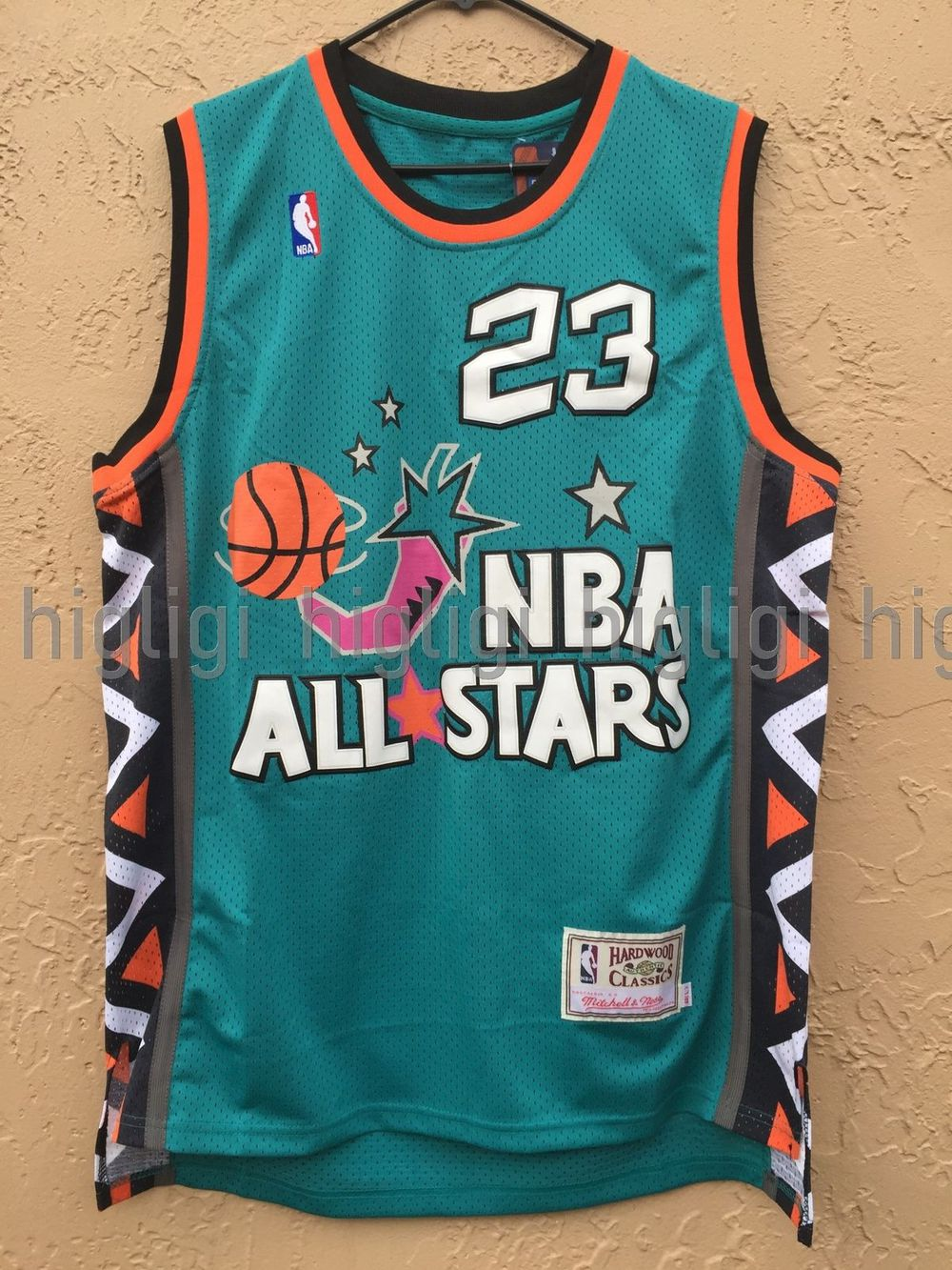 dfb2b550cbcf Michael Jordan 1996 All-Star Game Throwback Jersey