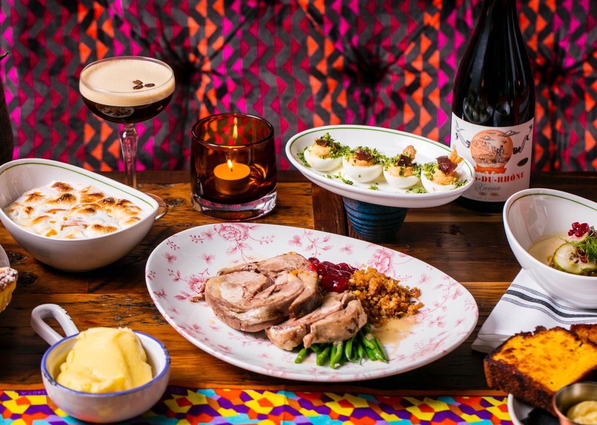 Thanksgiving 2019 at Red Rooster in Shoreditch