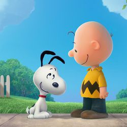 """Snoopy and Charlie Brown in """"The Peanuts Movie."""" For the first time ever, Snoopy, Charlie Brown and the rest of the gang we know and love from Charles Schulz's timeless """"Peanuts"""" comic strip will be making their big-screen debut."""