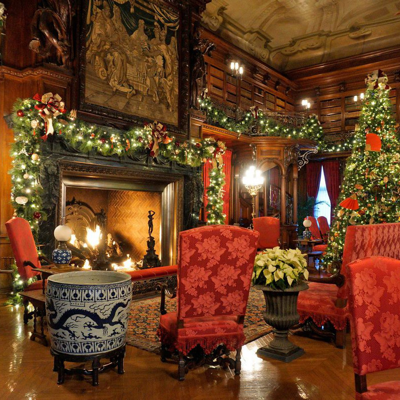 Christmas Decorations At Biltmore America S Largest House Curbed