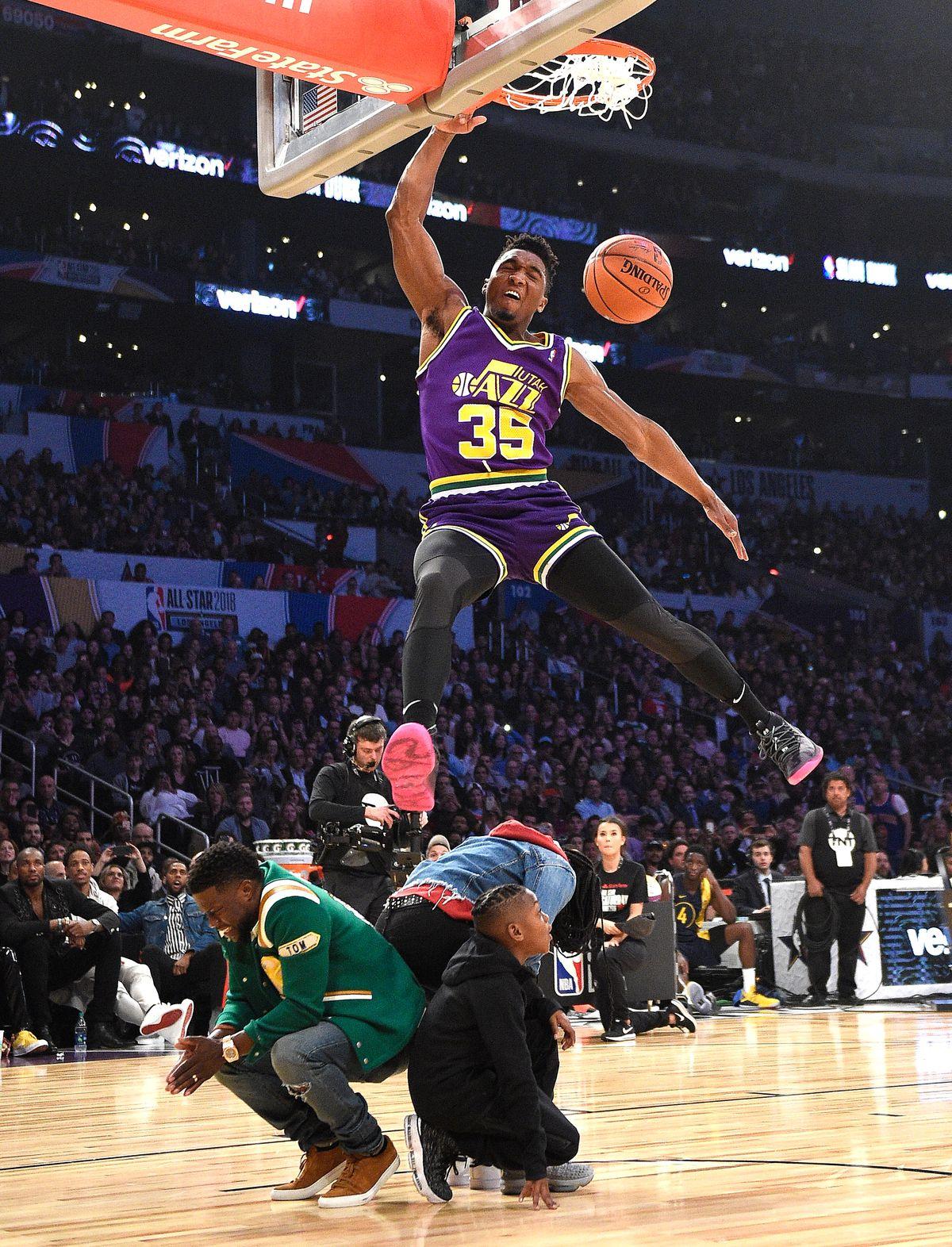 2018 Verizon Slam Dunk Contest