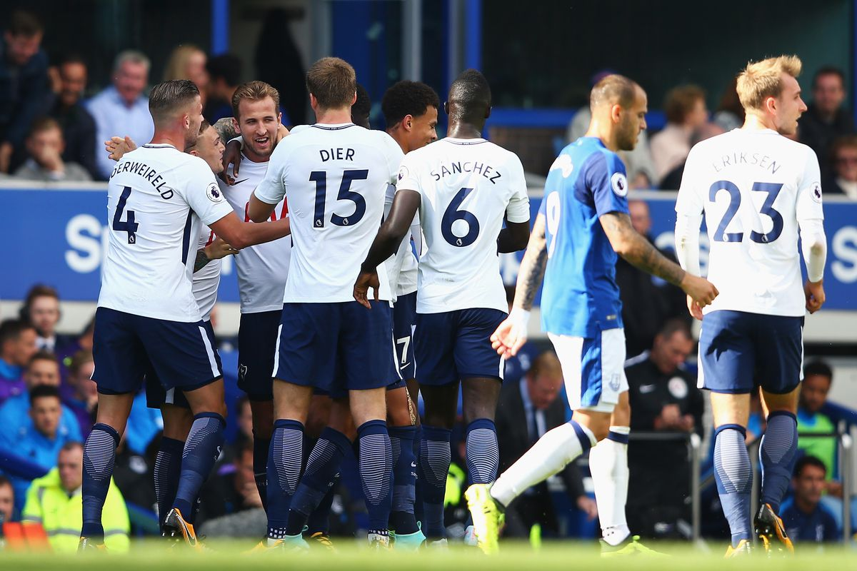WATCH Christian Eriksen doubles Spurs lead at Everton