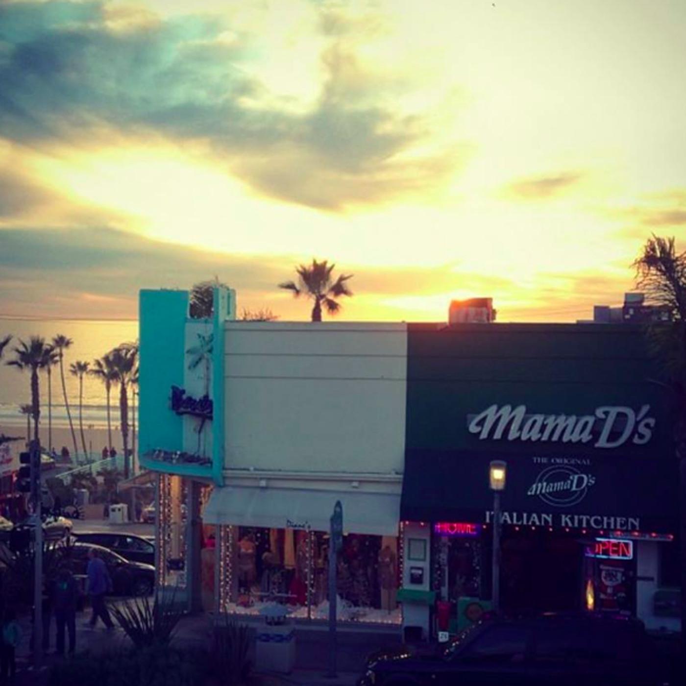 Old School Manhattan Beach Restaurant Mama D S Closes Original Location Eater La
