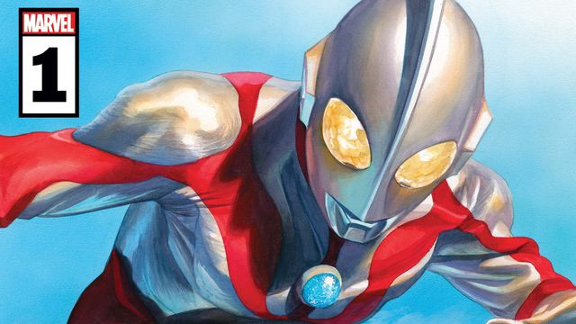 The cover of The Rise of Ultraman #1 painted by Alex Ross