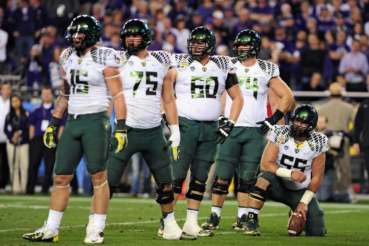 Oregon's adjustments were key in their Fiesta Bowl win.