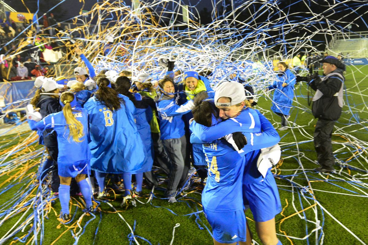 Bruins exult as Dan Guerrero is shown the door- we can dream, can't we? More celebrating is hopefully in our future.