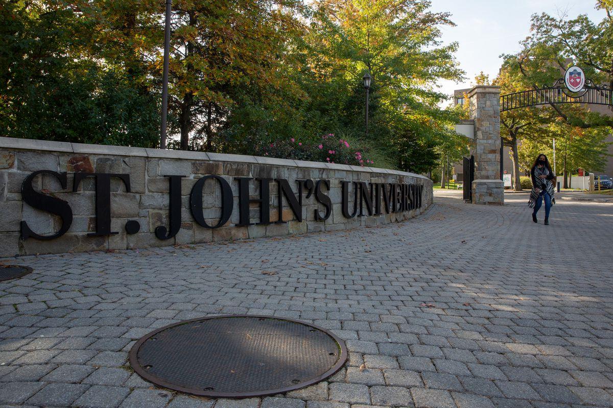 St. John's University in Queens, Oct. 19, 2020.