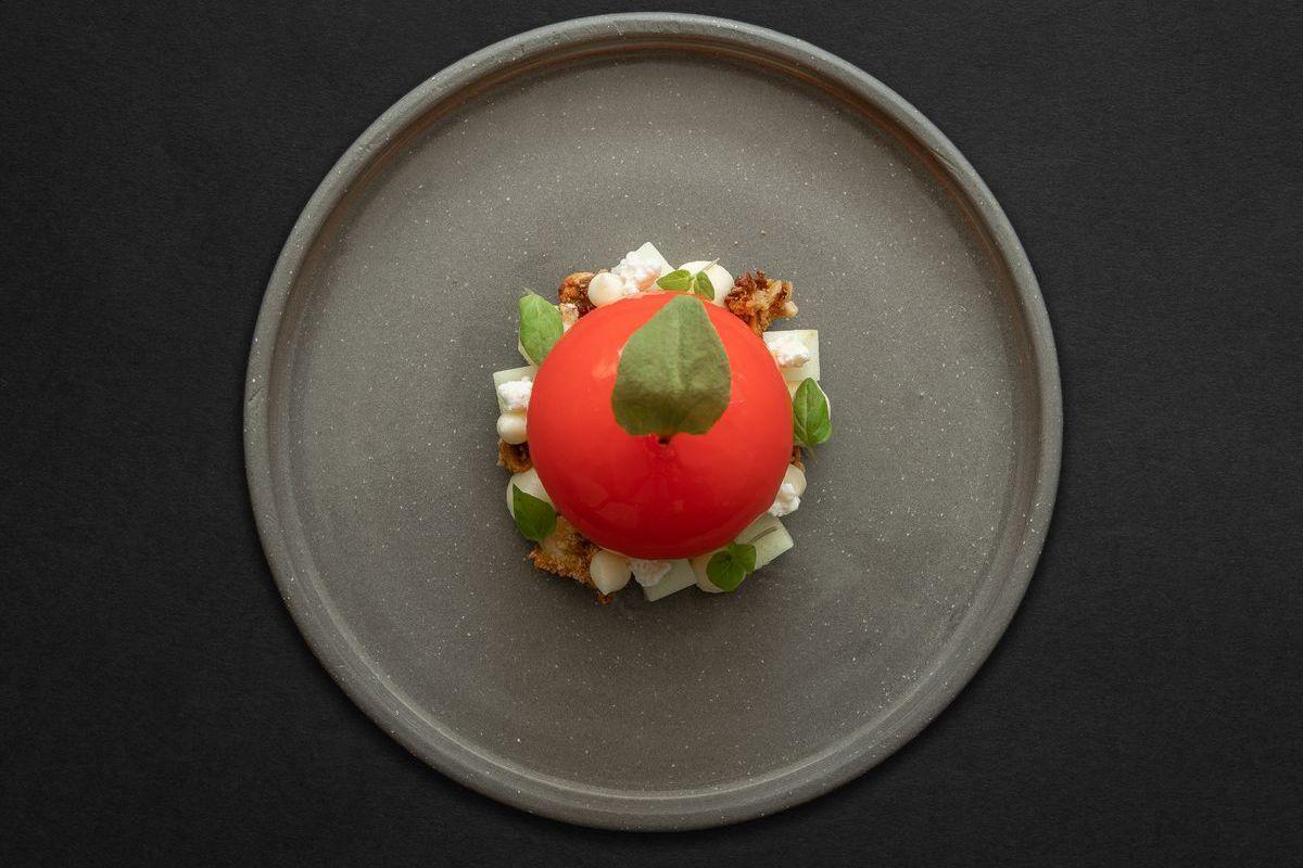 New York tasting menu food at Six by Nico