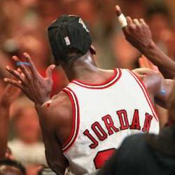 Michael Jordan won six NBA championships with the Bulls. | Sun-Times Photo