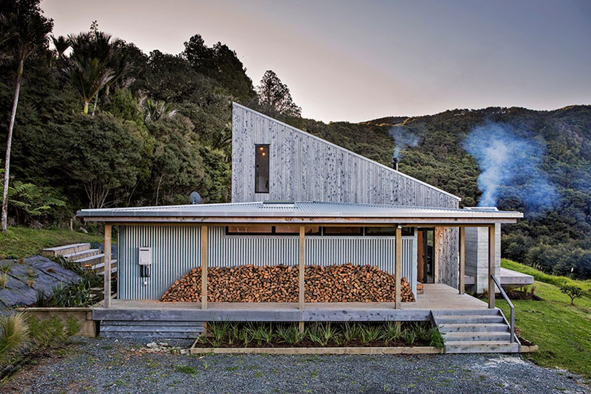 New Zealand S Backcountry Huts Inspired This Breezy Open