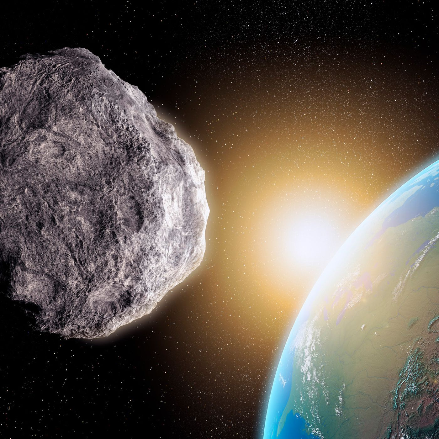 NASA is just simulating a potentially catastrophic asteroid