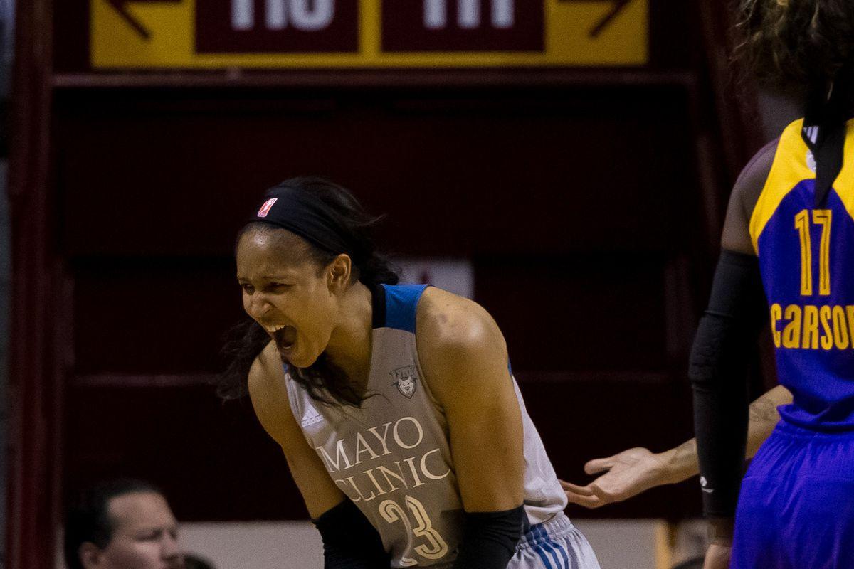 WNBA: Finals-Los Angeles Sparks at Minnesota Lynx