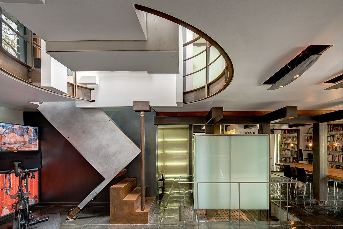 Rent The Thom Mayne House Featured In Heat Curbed La