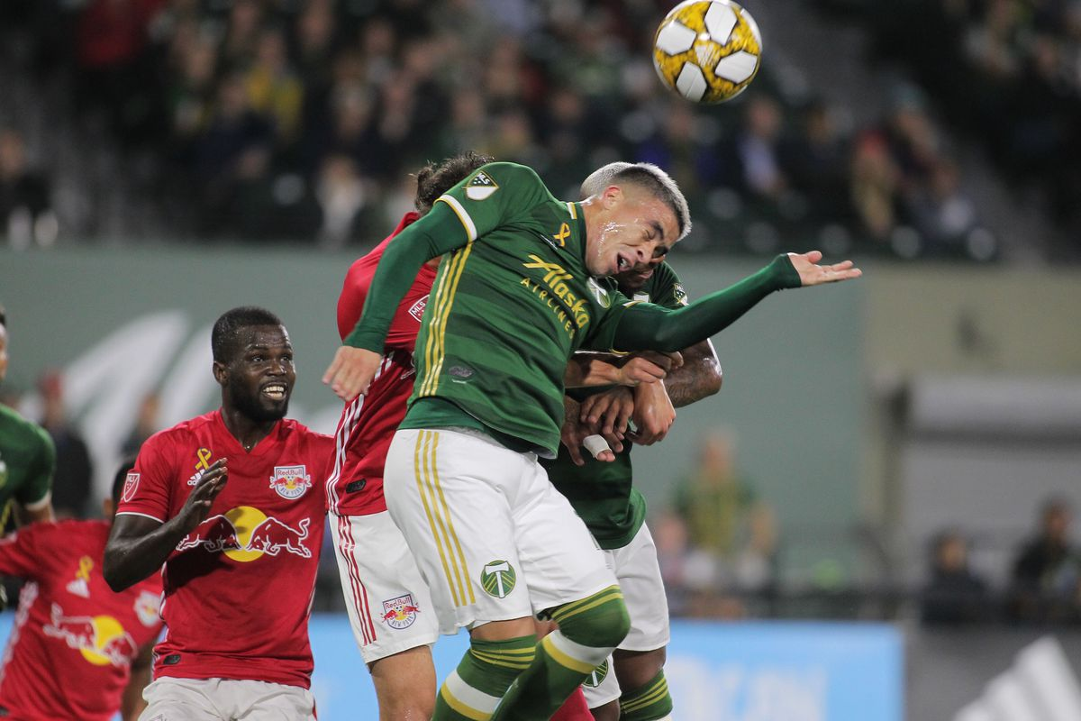 Portland Timbers fall below the red line after 2-0 loss to New York Red Bulls