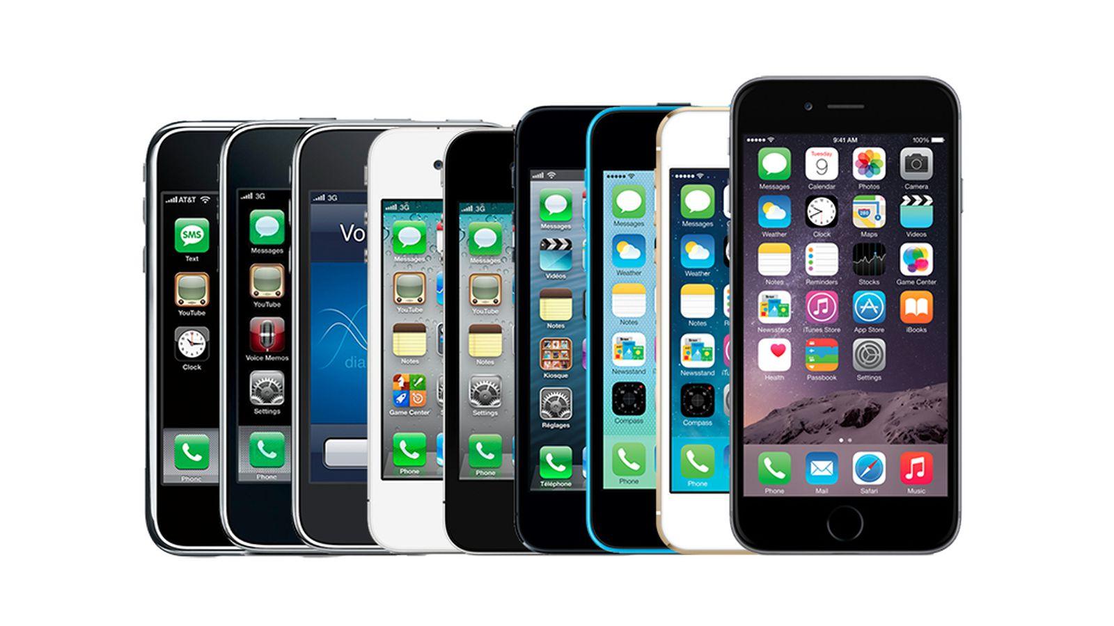 First Iphone Ever Made iPhone: A visua...