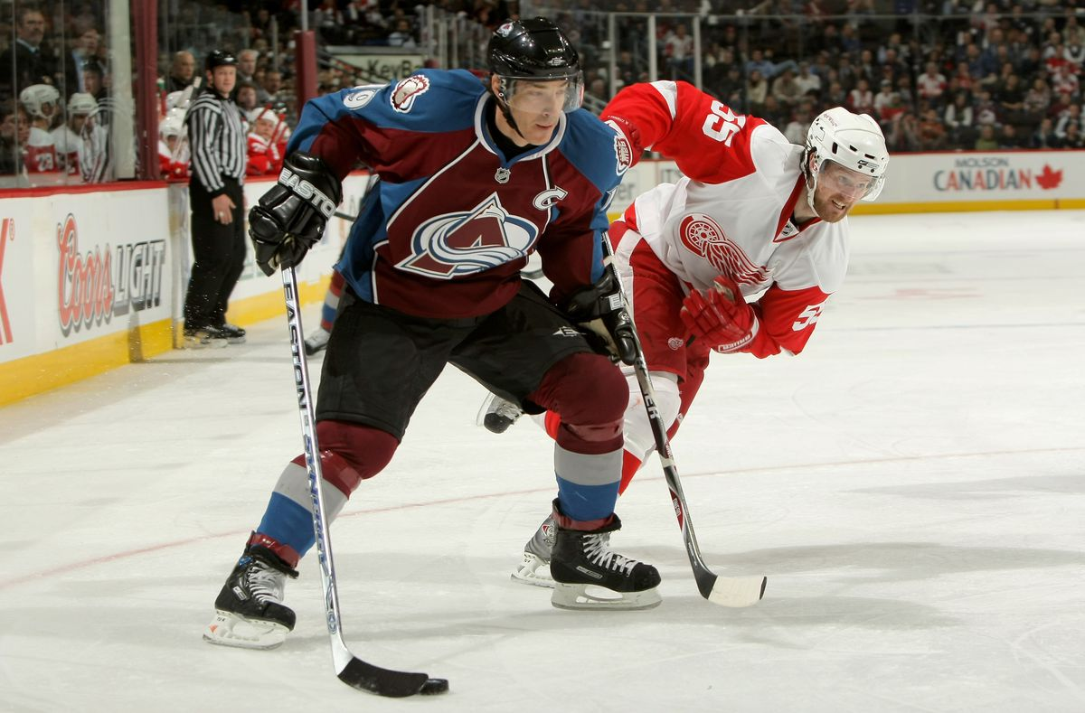 Detroit Red Wings v Colorado Avalanche - Game Four