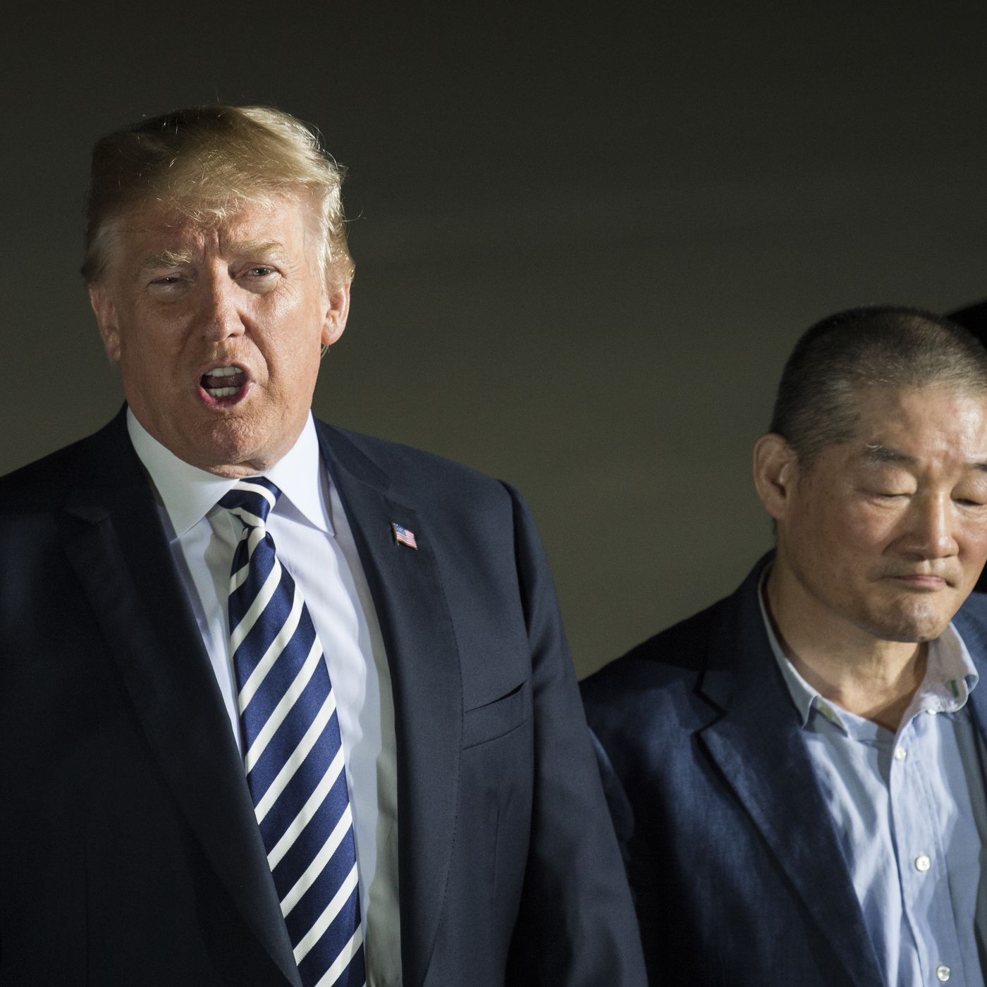 Trump Thanked Kim Jong Un For Being Excellent To Us Prisoners Held