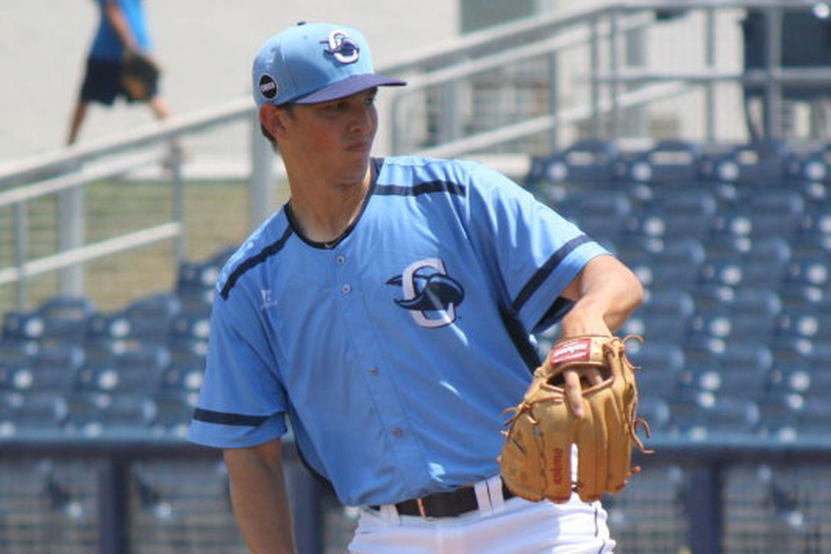 The focus of the 2011 draft was on all of the Rays' early picks, but Jacob Faria is proving he needs to be added to the 40-man roster this offseason