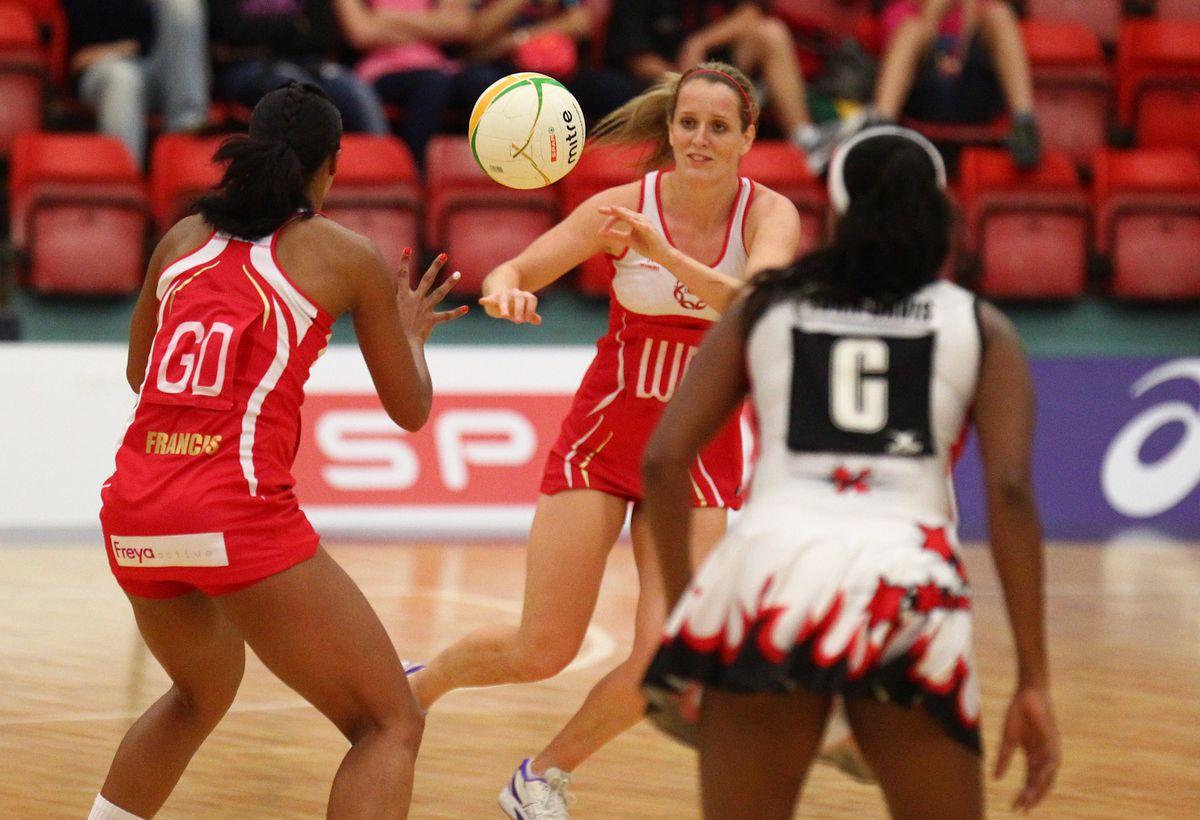 International Tri Nations Netball Match: England v Trinidad and Tobago