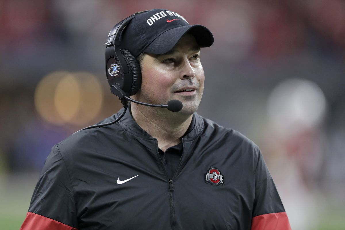 Ohio State football coach Ryan Day dismissed two players who are facing rape and kidnapping charges.