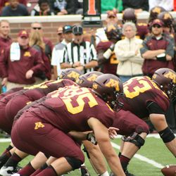 Gopher Offensive Line