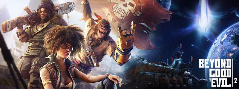 Beyond Good & Evil 2 three-player art