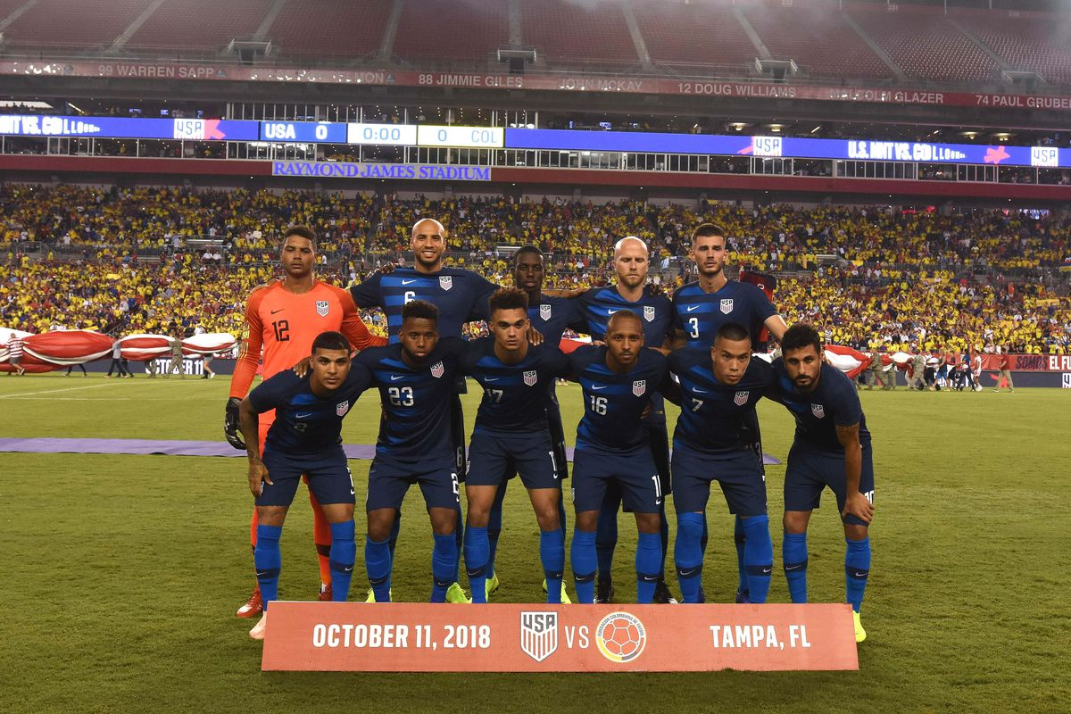 Soccer: International Friendly Soccer-Colombia at USA