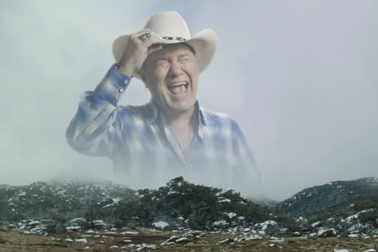 snapchat s new segmented lens tech makes the screaming cowboy meme real